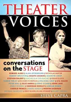 "Book Cover for ""Theater Voices: conversations on the stage"" by Steve Capra"